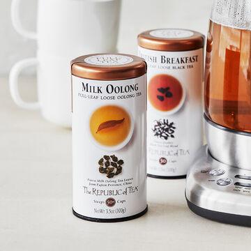 The Republic of Tea Milk Oolong Full Leaf Loose Tea