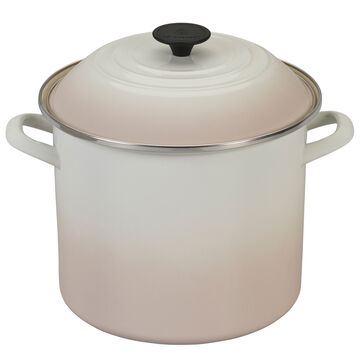 Le Creuset Enameled Steel Stockpot, 10 qt.
