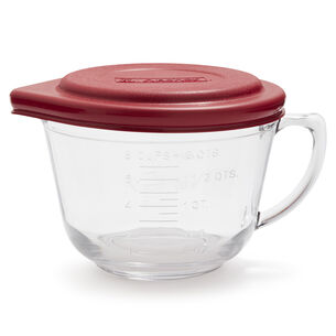 Anchor Hocking Glass Batter Bowl with TrueFit Lid, 2 qt.