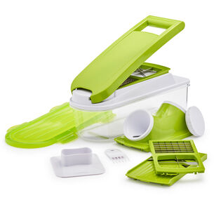 Sur La Table Veggie Prep Station with Spiralizer Attachment