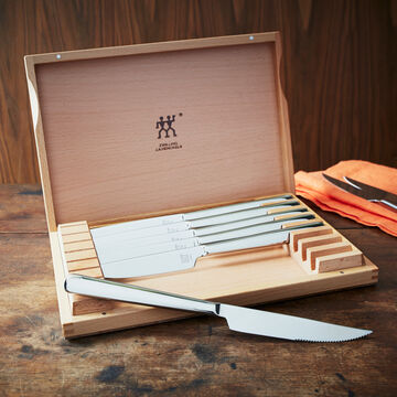 Zwilling J.A. Henckels Steak Knives with Box, Set of 8