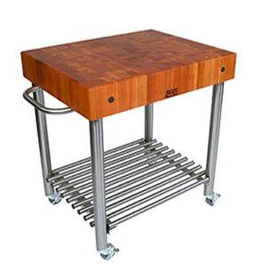 "John Boos & Co. Cucina D'Amico Cart, 30"" x 24"" x 35"""