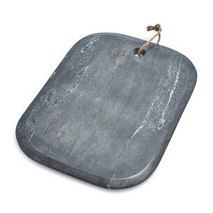 "Gray Marble Rectangular Cheese Board, 15"" x 11"""