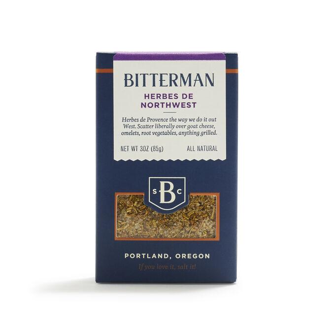 Bitterman Herbes de Northwest Salt, 3 oz.