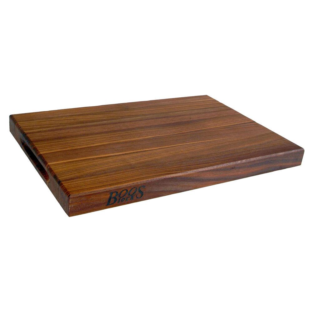 "John Boos & Co. Walnut Edge-Grain Cutting Board, 18"" x 12"" x 1½"""