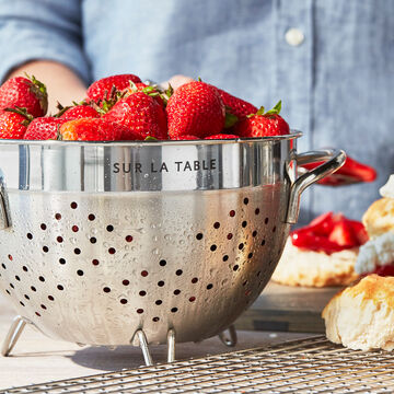 Sur La Table Stainless Steel Colanders