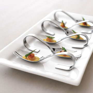 Fortessa Grand City Looped Appetizer Spoon