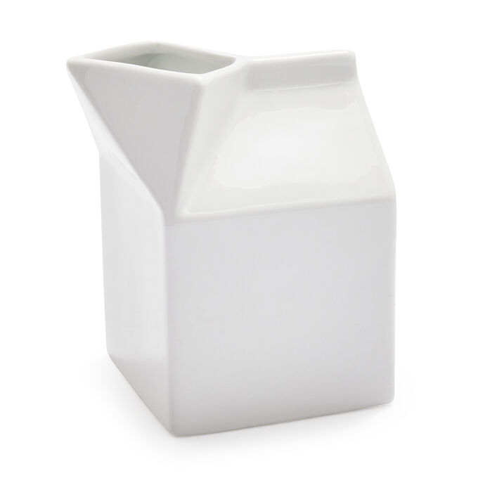 Porcelain Milk Box Creamer
