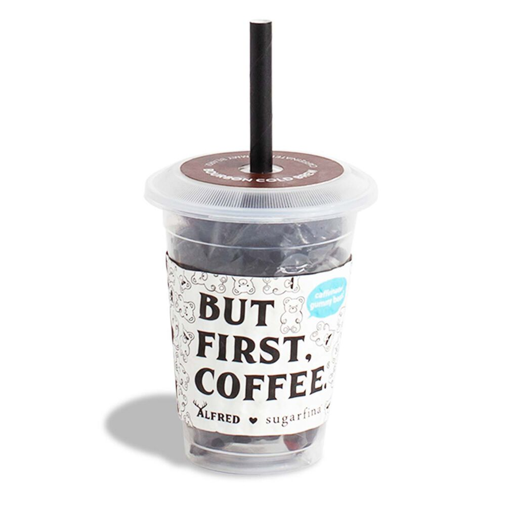Sugarfina Bourbon Cold Brew Bears Mini Cup and Coffee Bag Kit