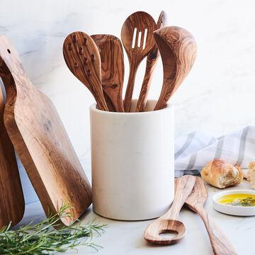 Sur La Table Olivewood Slotted Spoon