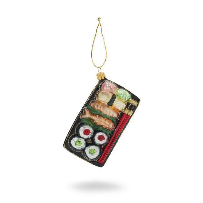 Bento Box Glass Ornament