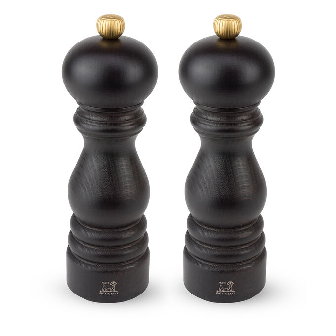Peugeot Chocolate-Lacquer Paris U'Select Salt & Pepper Mill Set
