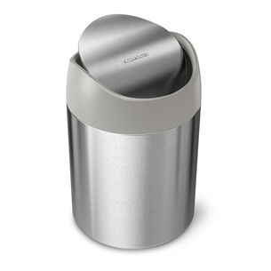 simplehuman Countertop Trash Can, 1.58 qt.