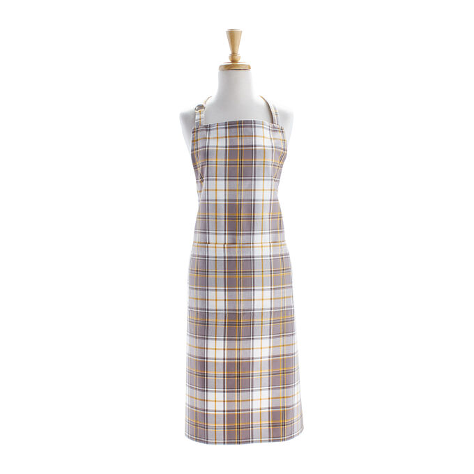 Fall Plaid Apron
