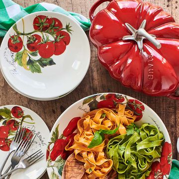 "Farmers Market Tomatoes Individual Pasta Bowl, 8.5"""