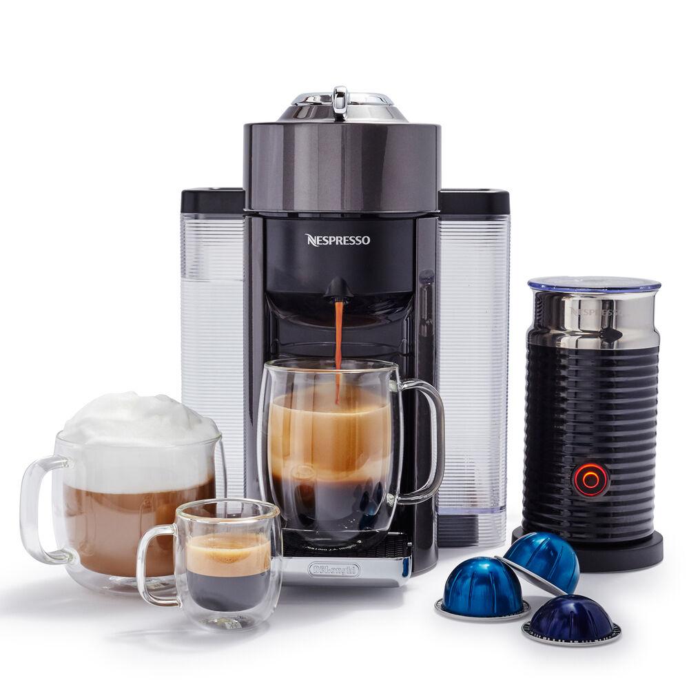 Nespresso VertuoLine Evoluo Deluxe by De'Longhi with Aeroccino3
