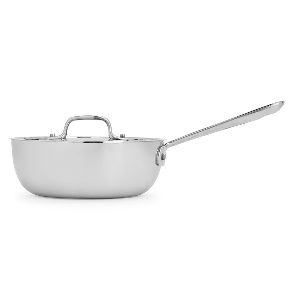 All-Clad d3 Stainless Steel Saucier