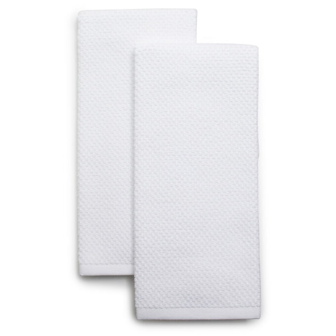 "Organic Cotton Kitchen Towels, 26"" x 16"", Set of 2"