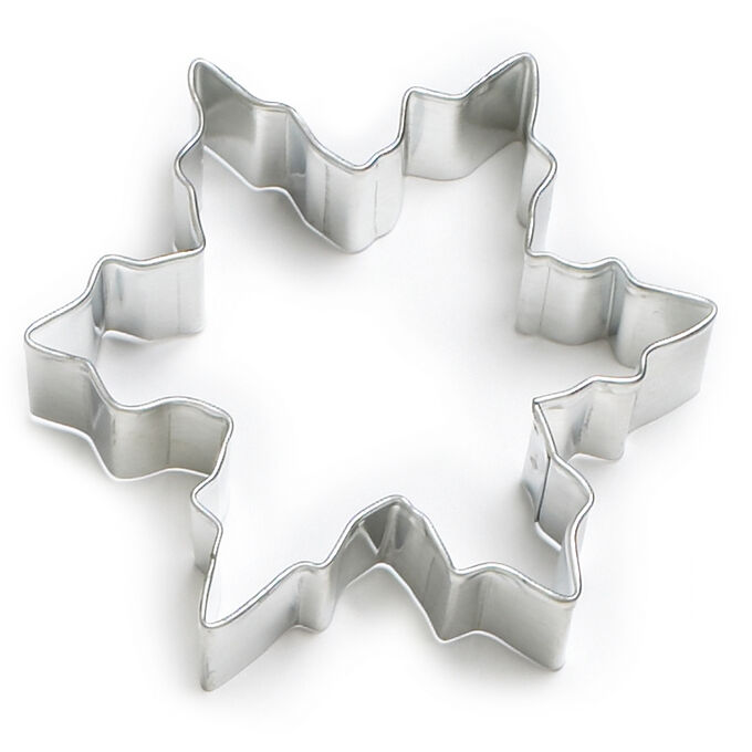 """Snowflake Cookie Cutter, 3.38"""""""