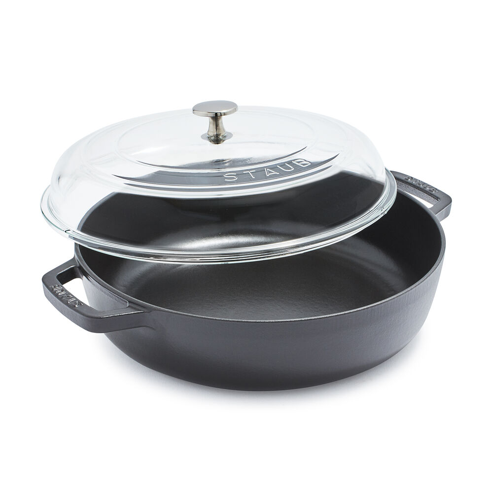 Staub Universal Deluxe Pan with Glass Lid, 4 qt.