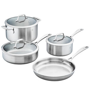 Zwilling Spirit Stainless Steel 7-Piece Cookware Set