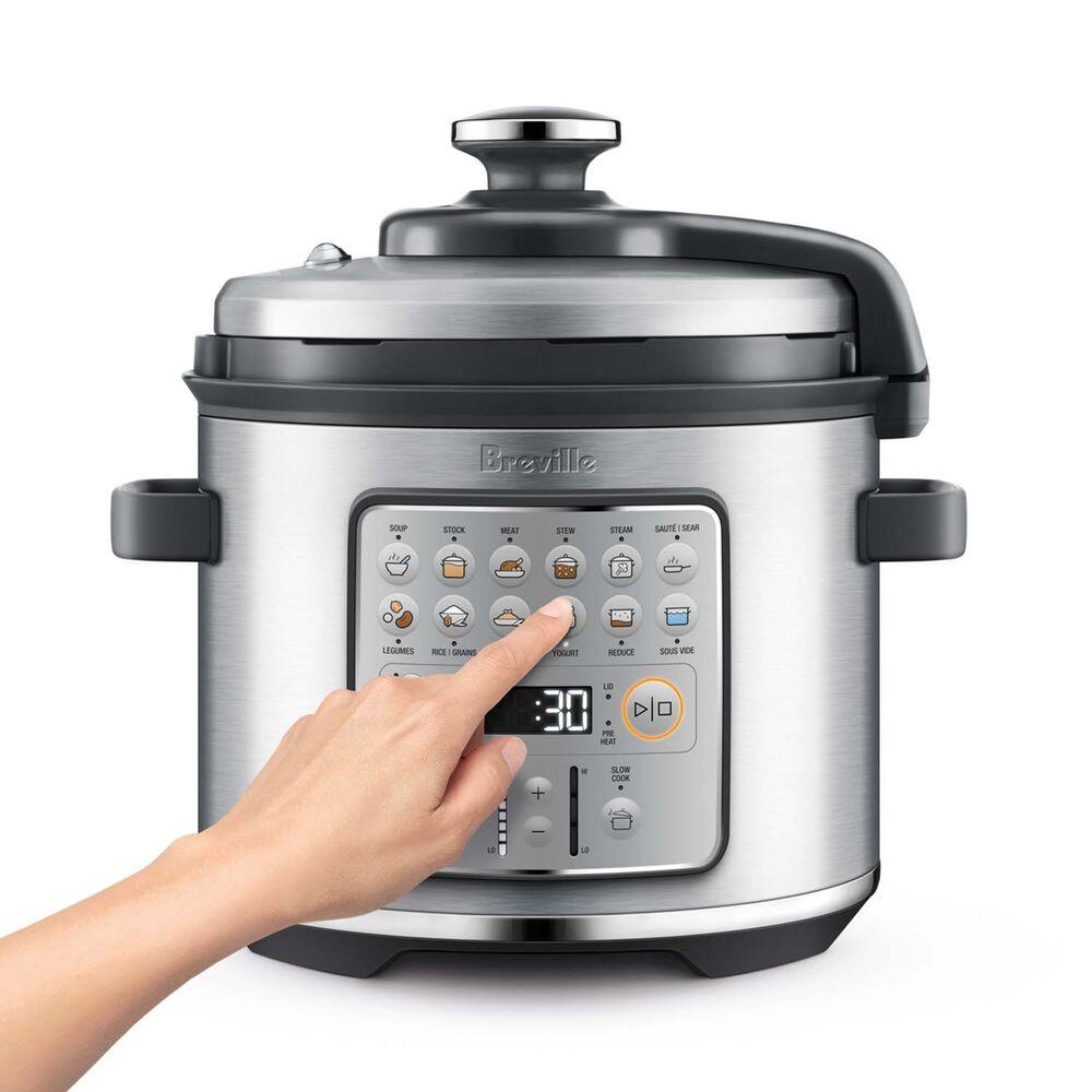 Breville Fast Slow Go Pressure Cooker, 6 qt.