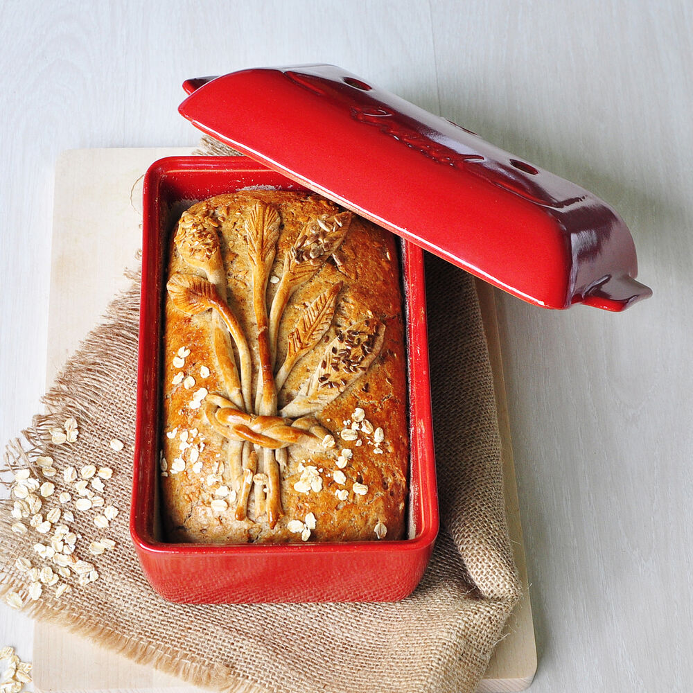 """Emile Henry Bread Loaf Baker, 9.5"""" x 6"""""""