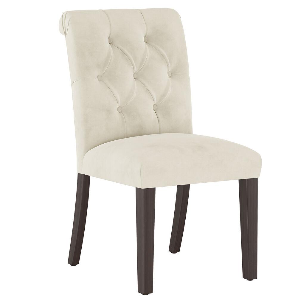 Camille Dining Chair, Espresso Leg Finish