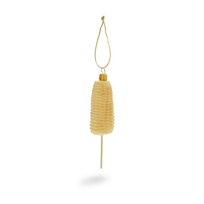 Corncob Glass Ornament
