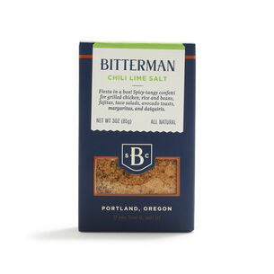 Bitterman Chili Lime Salt, 3 oz.