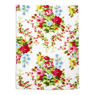 "Rose Garden Kitchen Towel by April Cornell, 19"" x 27"""