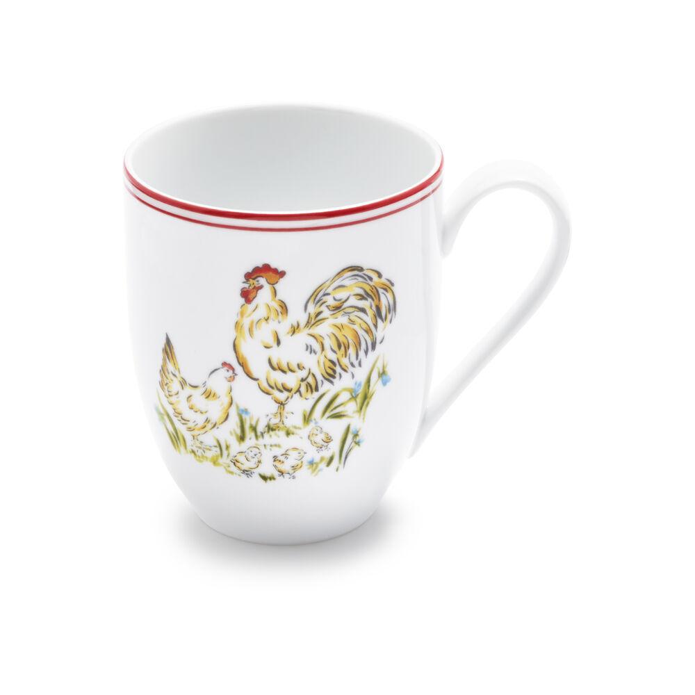 Farmhouse Rooster Mug, 12 oz.