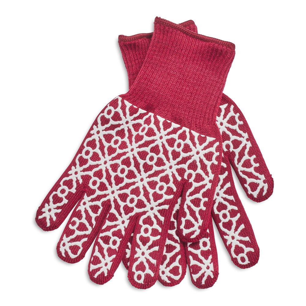 Tile Oven Mitts, Set of 2