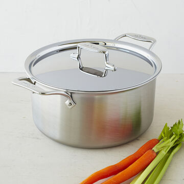 All-Clad d5 Brushed Stainless Steel Stockpot