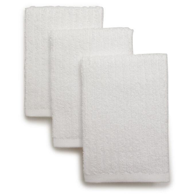 "Bar Mop Dishcloths, 12"" x 12"", Set of 3"