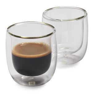 Zwilling J.A. Henckels Sorrento Double-Wall Espresso Glasses, 2.7 oz., Set of 2