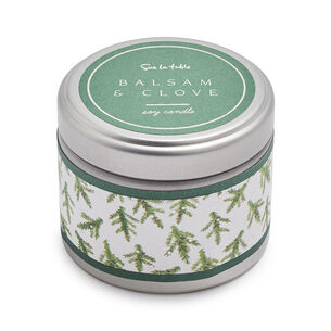 Balsam & Clove Soy Candle, 3 oz.