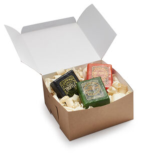 Plymouth Artisan Cheese 3-Piece Savory Set in Gift Box