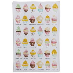 "Cupcake Kitchen Towel, 28"" x 18"""