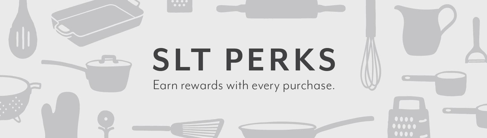 SLT Perks rewards program