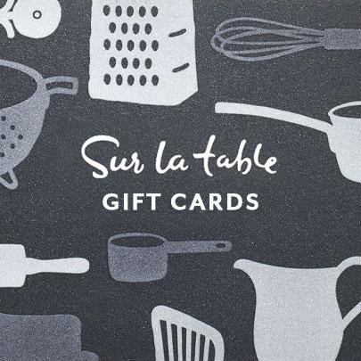 Sur La Table dark gray Gift Cards