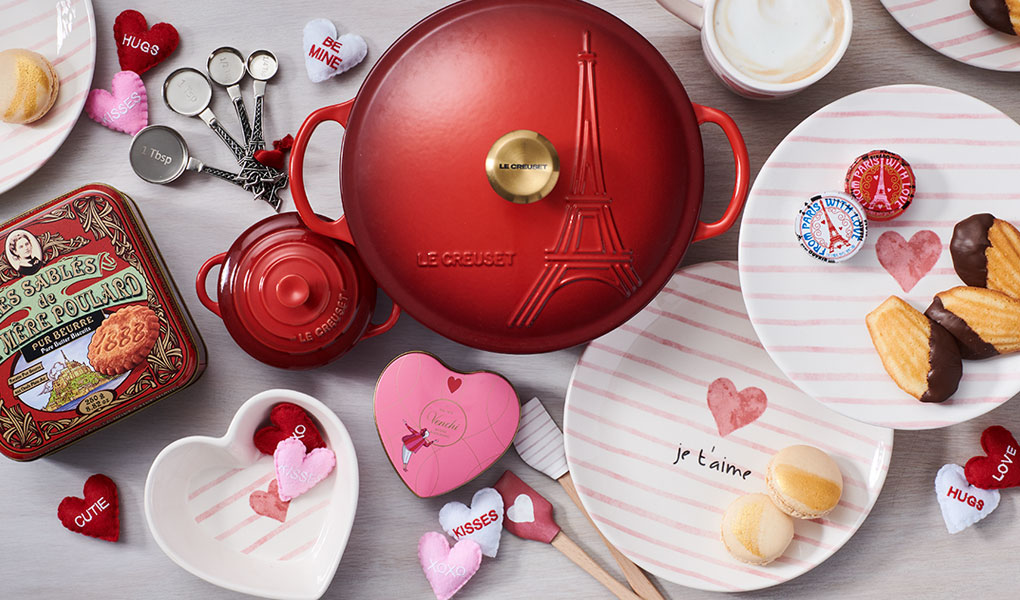 Le Creuset red cocotte