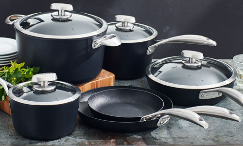 Scanpan Pro S+ nonstick cookware set