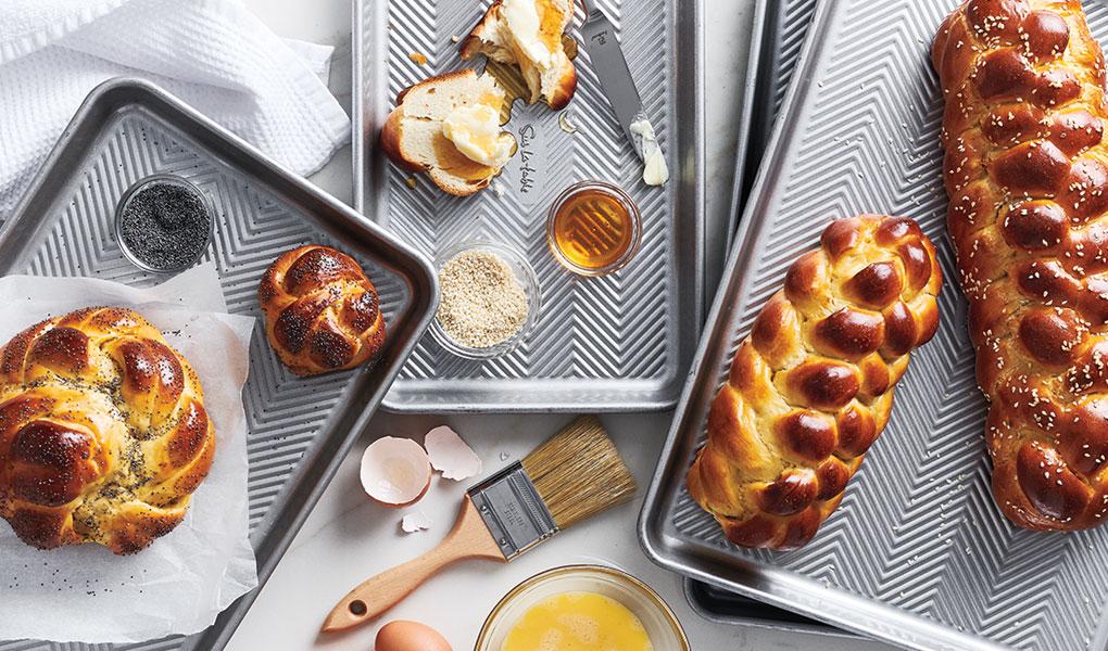 Sur La Table silver classic bakeware