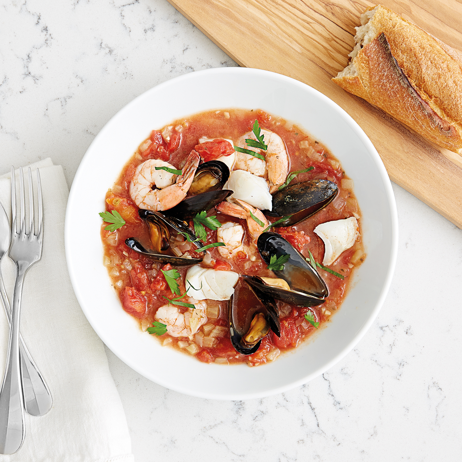 All Clad Cioppino Seafood Stew Recipe Recipe Sur La Table