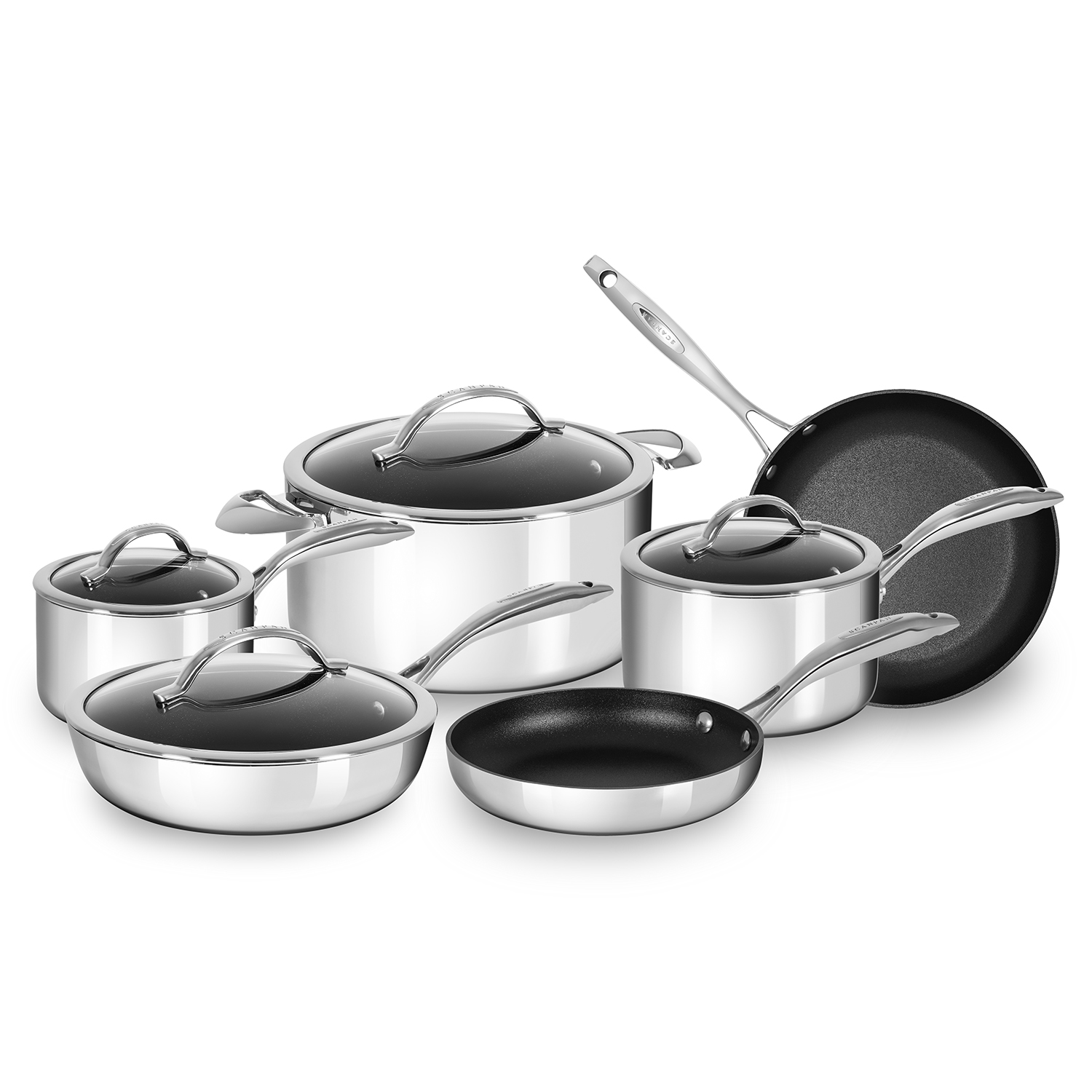 Scanpan 10-piece cookware set for a fraction of the price