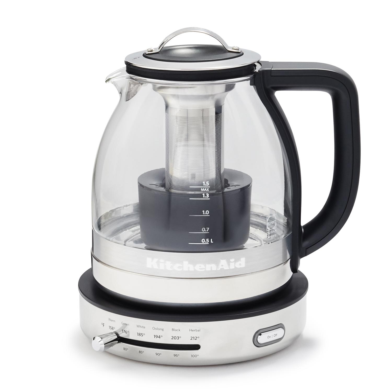 KitchenAid® Electric Glass Kettle | Sur La Table