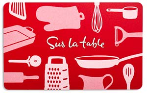 Sur La Table Red Icon Gift Card