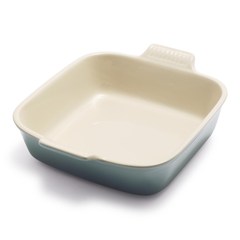 Le Creuset Heritage 8 Square Stoneware Dish White