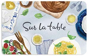 Sur La Table Spring Table Gift Card